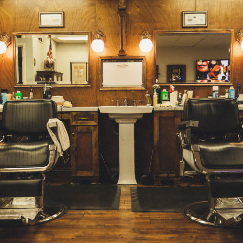 TRUE BLUE BARBER SHOP - SHOT BY ALI STRAIGHTSOUND
