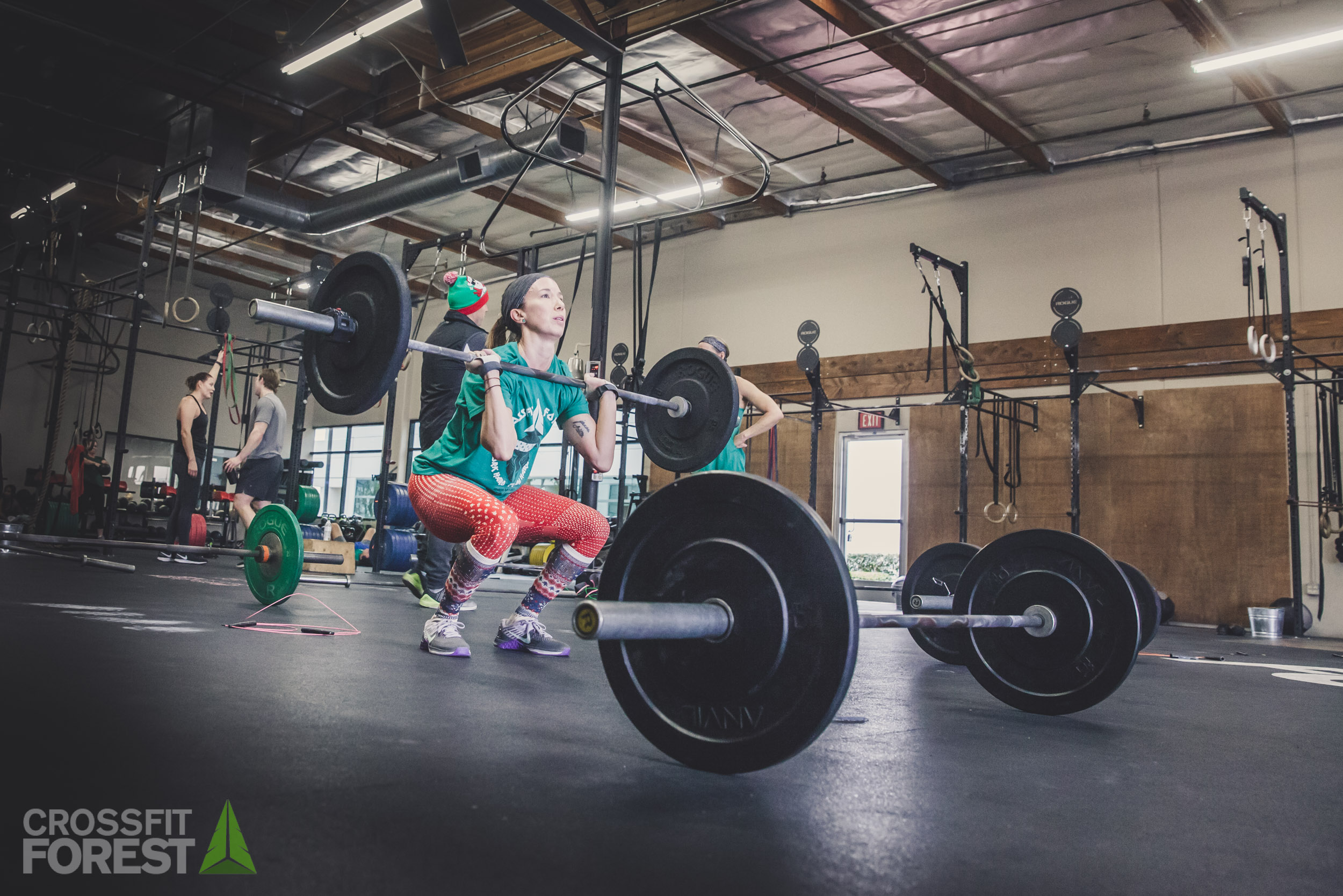 CrossFit Forest 12 Days of Xmas