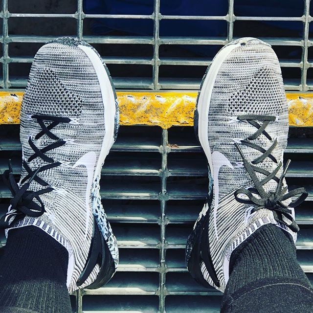 Nike Metcon DSX Flyknit 2's. They get better the more I wear them.