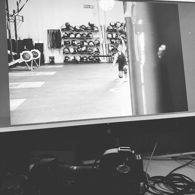 Late night of edits begins. @crossfit.forest.rsm