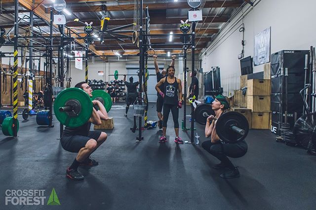 Stronger together. The only thing that people who don't CrossFit don't understand about why all of us do CrossFit is the communities we build within our boxes. No race, no bullshit, no drama. There to work and push each other to work harder. It's different from anything else I've been a part of. And a huge reason I'm selective about the people I'm active with. @crossfit @misschavez4 @nick.bernatowicz