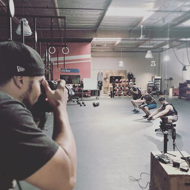 @fraziergraphix on set with us for our @511tactical fitness shoot featuring our Tactec Plate Carrier. Huge thanks to @crossfittustin in…well…Tustin for putting up with our takeover of their box.