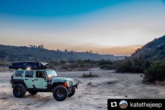 @katethejeep with @get_repost ・・・ She's not tan, she's not green, just somewhere in between... @511tactical @castlefab